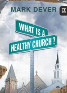 what is a healthy church book cover
